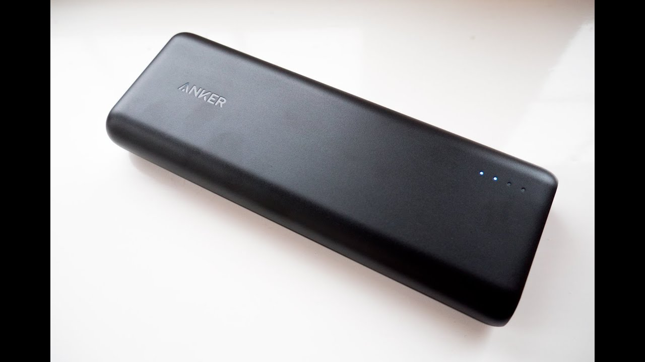 Anker PowerCore 20100 PowerBank – Unboxing & Overview (4K)