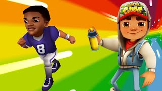 Subway Surfers World Tour 2020 Fullscreen - New Football Player Character Gameplay Walkthrough HD