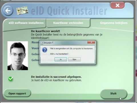 - Identiteitskaart Youtube Installatie Elektronische Kaartlezer