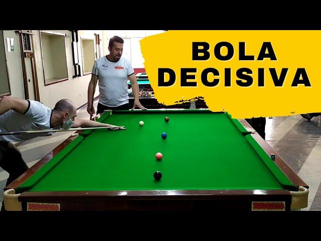 Estratégia de jogo Regra Brasileira - Uma bola define a partida