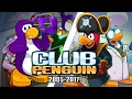 The Evolution of Club Penguin 2005 - 2017