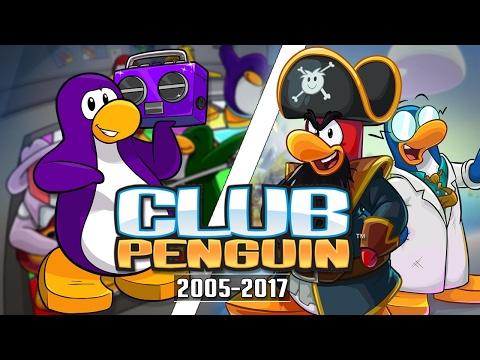 The Evolution of Club Penguin 2005 - 2017