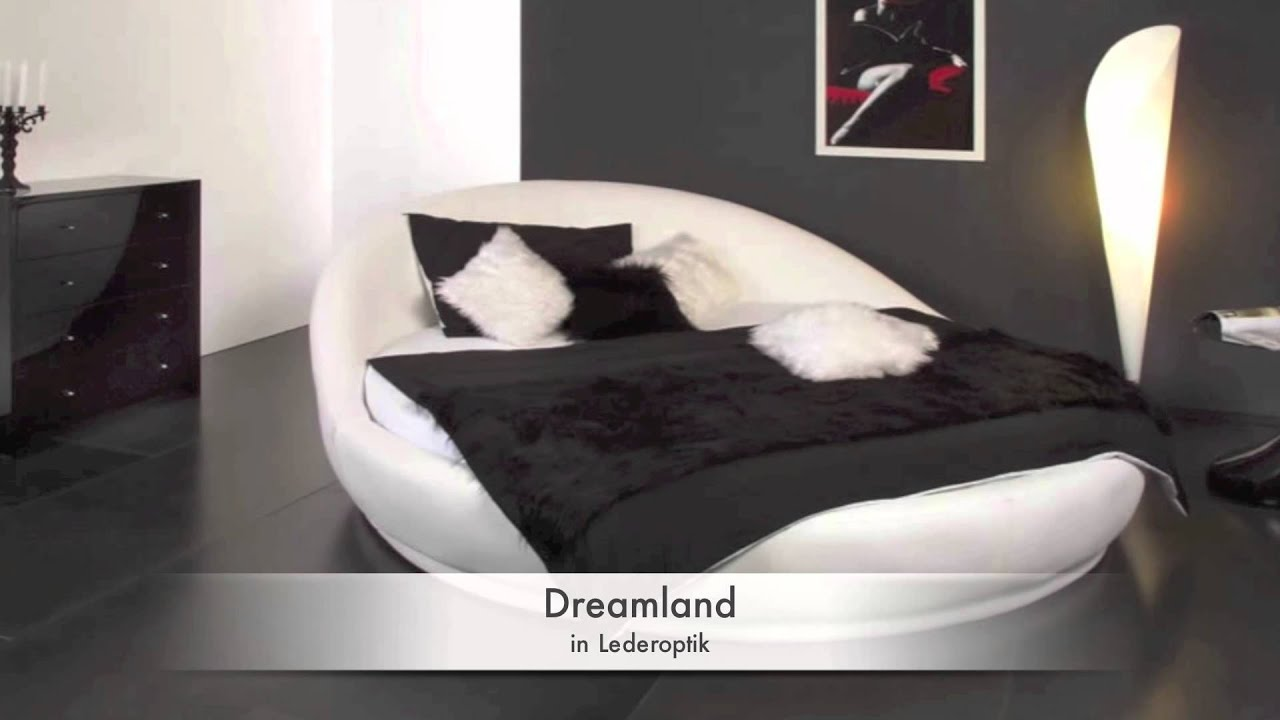 rundbetten im bettenonlineshop youtube. Black Bedroom Furniture Sets. Home Design Ideas