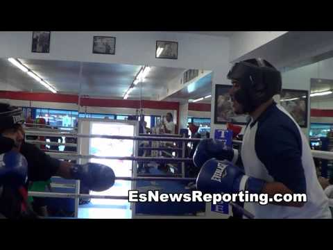 sparring first day at the gym boxing aint easy - EsNews boxing