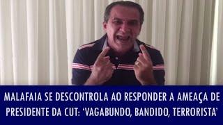 Silas Malafaia se descontrola ao responder a ameaça de presidente da CUT: 'Vagabundo, bandido..