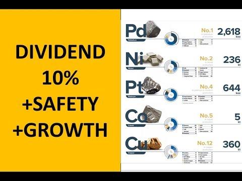 10% Dividend, Growing, Moat and Huge Safety - Norilsk Nickel
