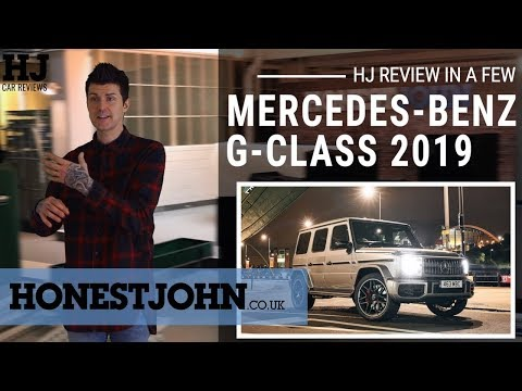 Car review in a few | 2019 Mercedes-Benz G-Class - the world's best car...sort of.