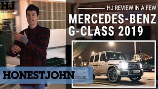 Car review in a few | 2019 Mercedes-Benz G-Class - the world's best car...sort of.