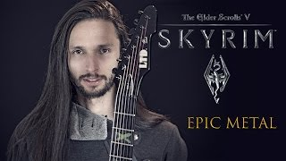 Skyrim Dragonborn Dovahkiin Metal Theme Song Guitar by Srod Almenara.mp3