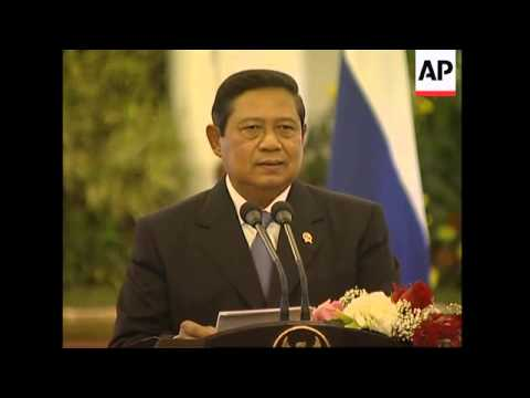 Putin and Indonesian PM discuss bilateral defence cooperation