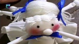 Как сшить куклу своими руками. Часть 2. Раскрашиваем и одеваем куклу. Мастер класс