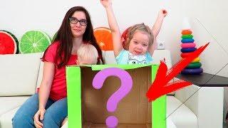 Что мама спрятала в коробке? Веселый челлендж