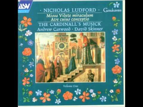 Download Nicholas Ludford - Missa 'Videte Miraculum' For 6 Voices