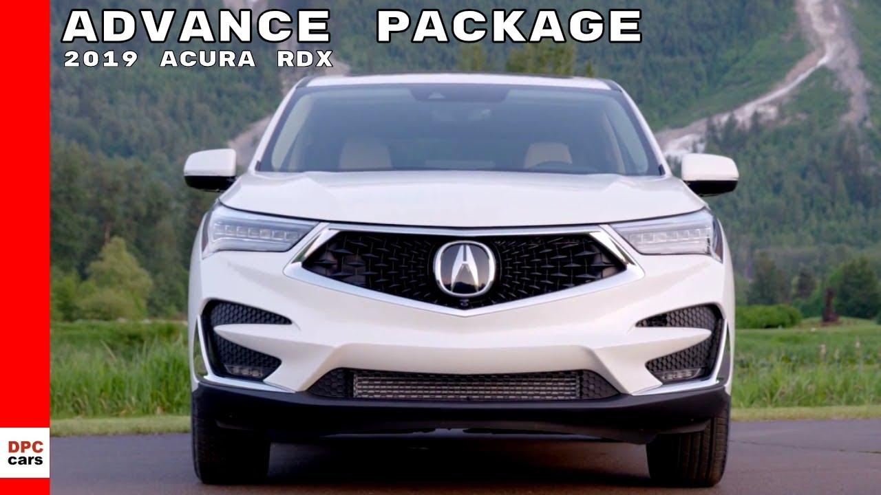 2019 acura rdx advance package sh-awd