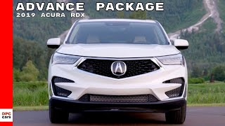 2019 Acura RDX Advance Package SH-AWD