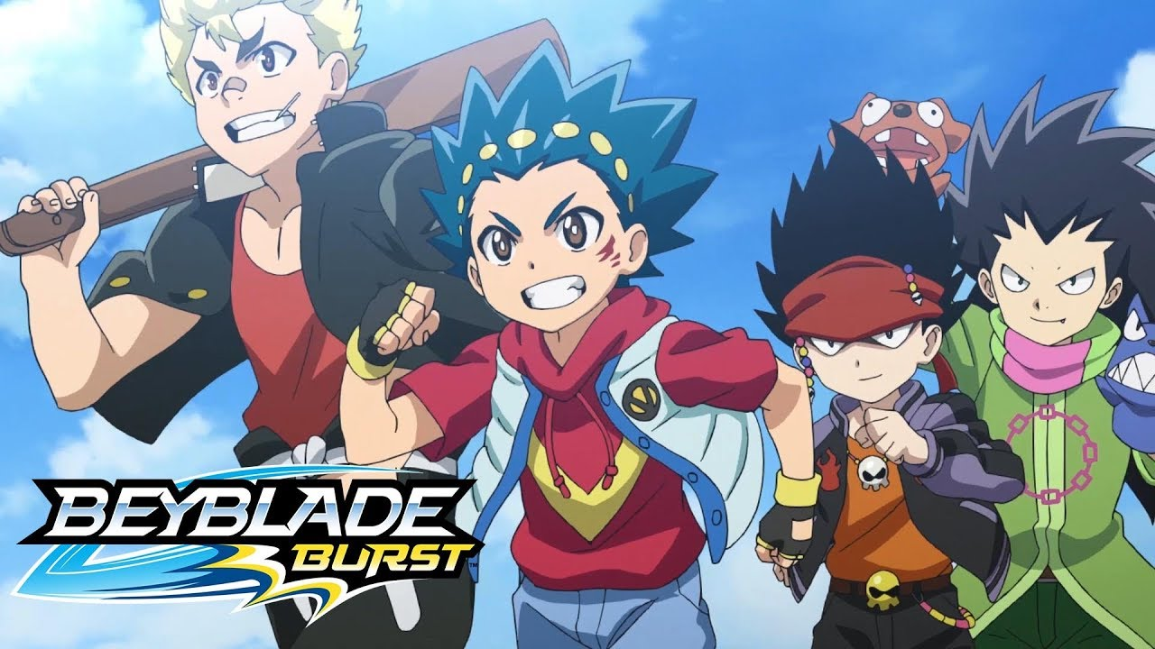 Beyblade Burst Opening Theme Our Time Youtube