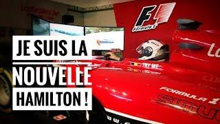 JE TESTE UNE FORMULE 1 ! VOITURES DE LUXE - SALON AUTO BRUXELLES PART.2