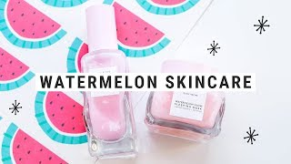 SEPHORA BEST SELLING SKINCARE - Glow Recipe Watermelon Moisturizer & Mask Review!