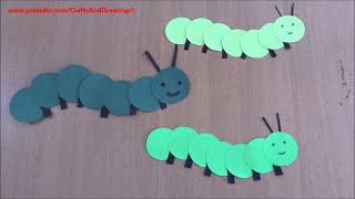 How to make Caterpillar very easily ~ DIY ~ Tutorial ...