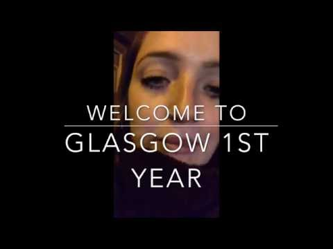 Glasgow University, First Year, 2016