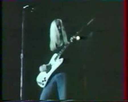 johnny winter captured  live tour 1976