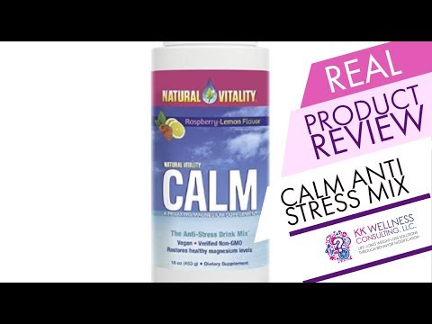Real Product Review: Natural Vitality Calm Anti-Stress Water Drop Mix
