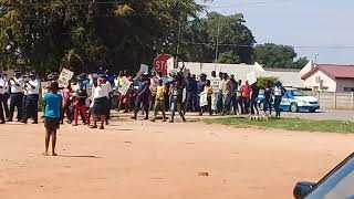 Eswatini Police anti-drug campaign @ Dvokolwako