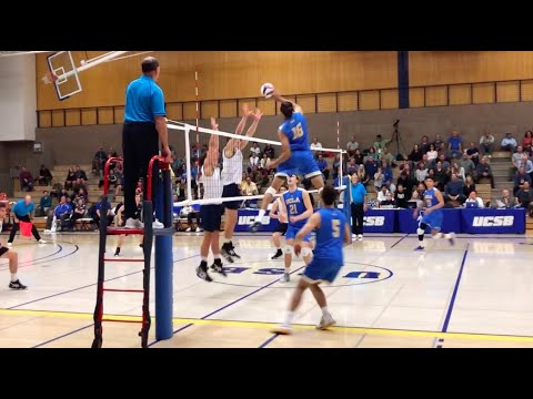 MEN's Volleyball UCSB vs UCLA 2020 NCAA