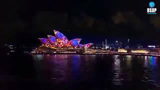 [BSOP định cư Úc] - TIN TỨC | Lễ hội âm nhạc & ánh sáng lớn nhất Nam bán cầu - Vivid Sydney tại Úc