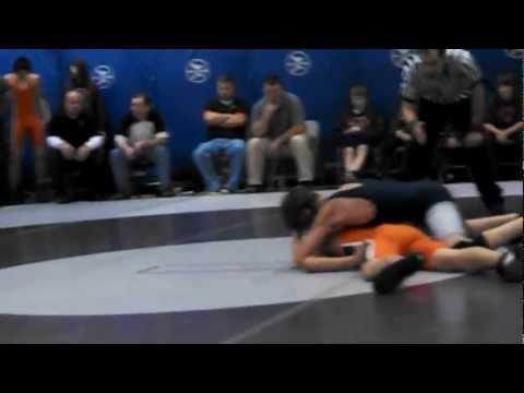 2012-12-8 Glen Este Middle School Dual - 116 pounds Match 1_3 (Nagel vs Beavercreek)
