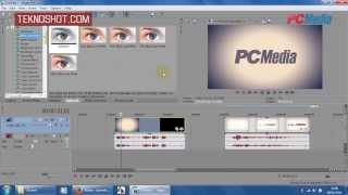 Sony Vegas Pro 12 - Efek Video - Video FX  | Tutorial by PC Media Teknoshot