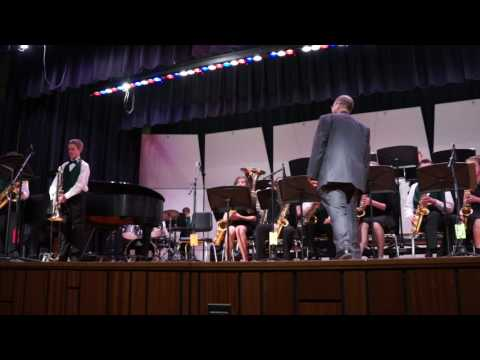 Indian Valley Middle School Jazz Rally 4/7/17 : Pennridge South Middle School Jazz Band : Song 2