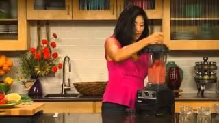 Vitamix Turboblend Vs Blender - Making Pineapple Strawberry Sorbet