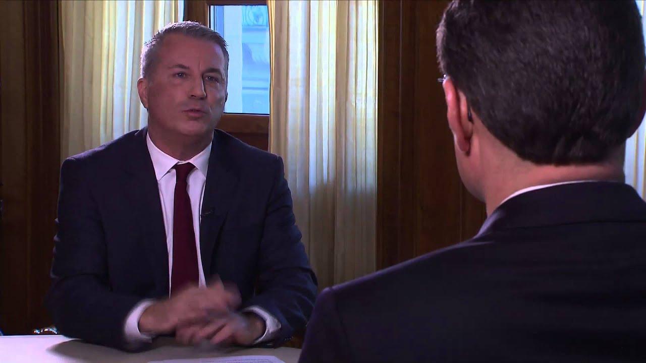 SNB-Präsident Thomas Jordan im «ECO»-Interview - YouTube