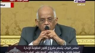 """بالفيديو..النائب محمد الفيومى: قانون الإدارة المحلية """"جه"""" البرلمان بشكل ودى مش رسمى"""