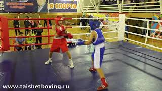 Белоусов Алексей (Тайшет) vs Несмиянов Виталий (Тулун)
