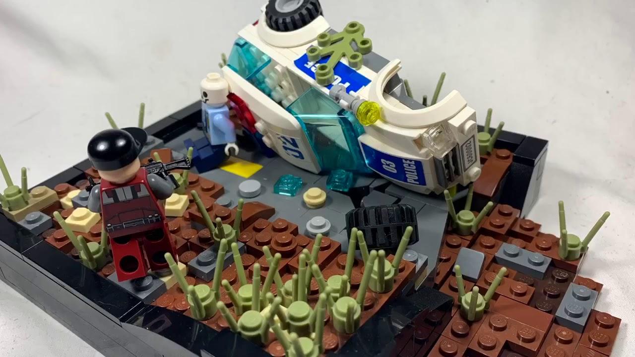 Lego zombie apocalypse mini moc - YouTube