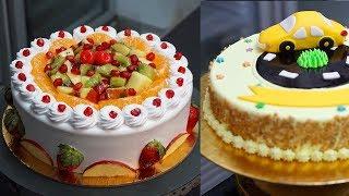 Cartoon Car Cake V/s Real Fruit Cake | Indian Bakery Cake Design Ideas