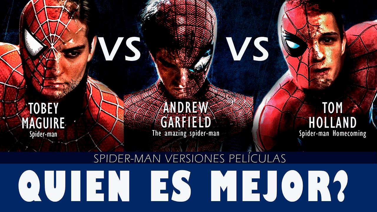 Amazing SpiderMan vs SpiderMan Tobey Maguire vs Andrew Garfield VERSUS