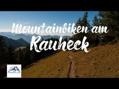 Trail Abfahrt vom Rauheck mit dem Mountainbike