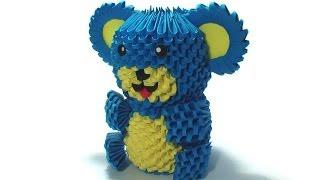 3d Origami Teddy Bear Tutorial
