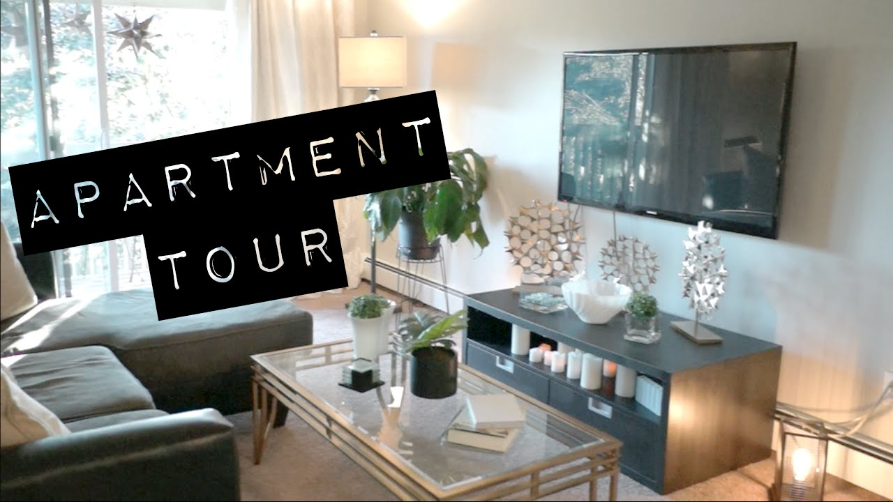 Apartment Tour 2016 | Interior Design   YouTube