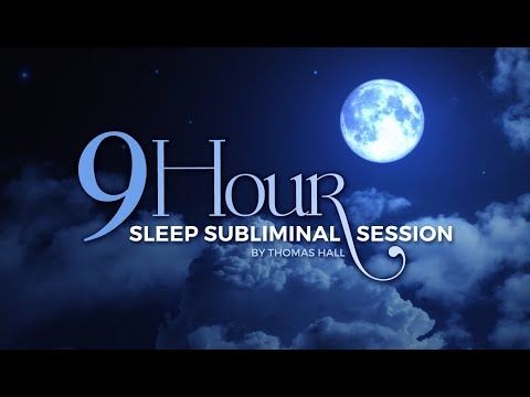 Stop Stress & Relax - (9 Hour) Sleep Subliminal Session - By Thomas Hall