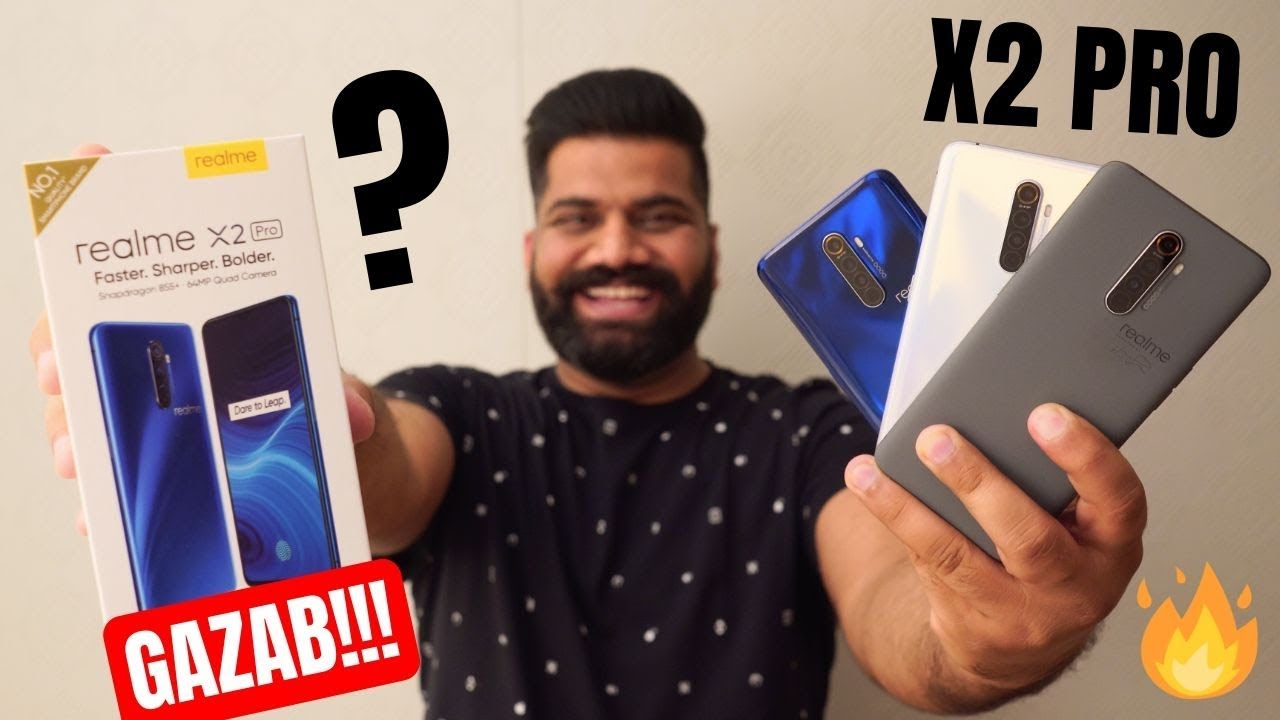 Realme X2 Pro Unboxing & First Look + GIVEAWAY   The REAL Champion???