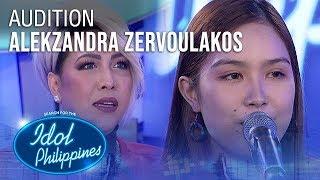 Alekzandra Zervoulakos - All About That Bass | Idol Philippines 2019 Auditions