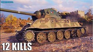 когда шотный лучше тащить  Skoda T25 World of Tanks лучший бой