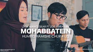Humko hamise chura lo - mohabbetein shahrukh Khan cover Tommy Kaganangan ft Rita roshan from Indo