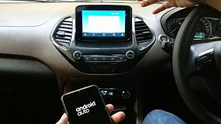 Ford Sync 3 + Android Auto On Freestyle and EcoSport Fully Explained #ShotOnOnePlus