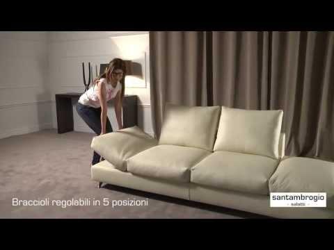 Fabbrica Divani In Pelle Milano.Santambrogio Divani Milano Presenta I Divani In Pelle Claudio