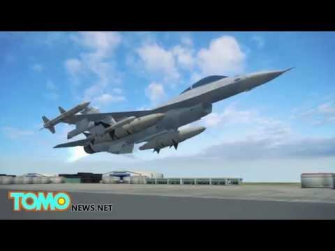 Video máy bay NATO gặp nạn, 10 người thiệt mạng